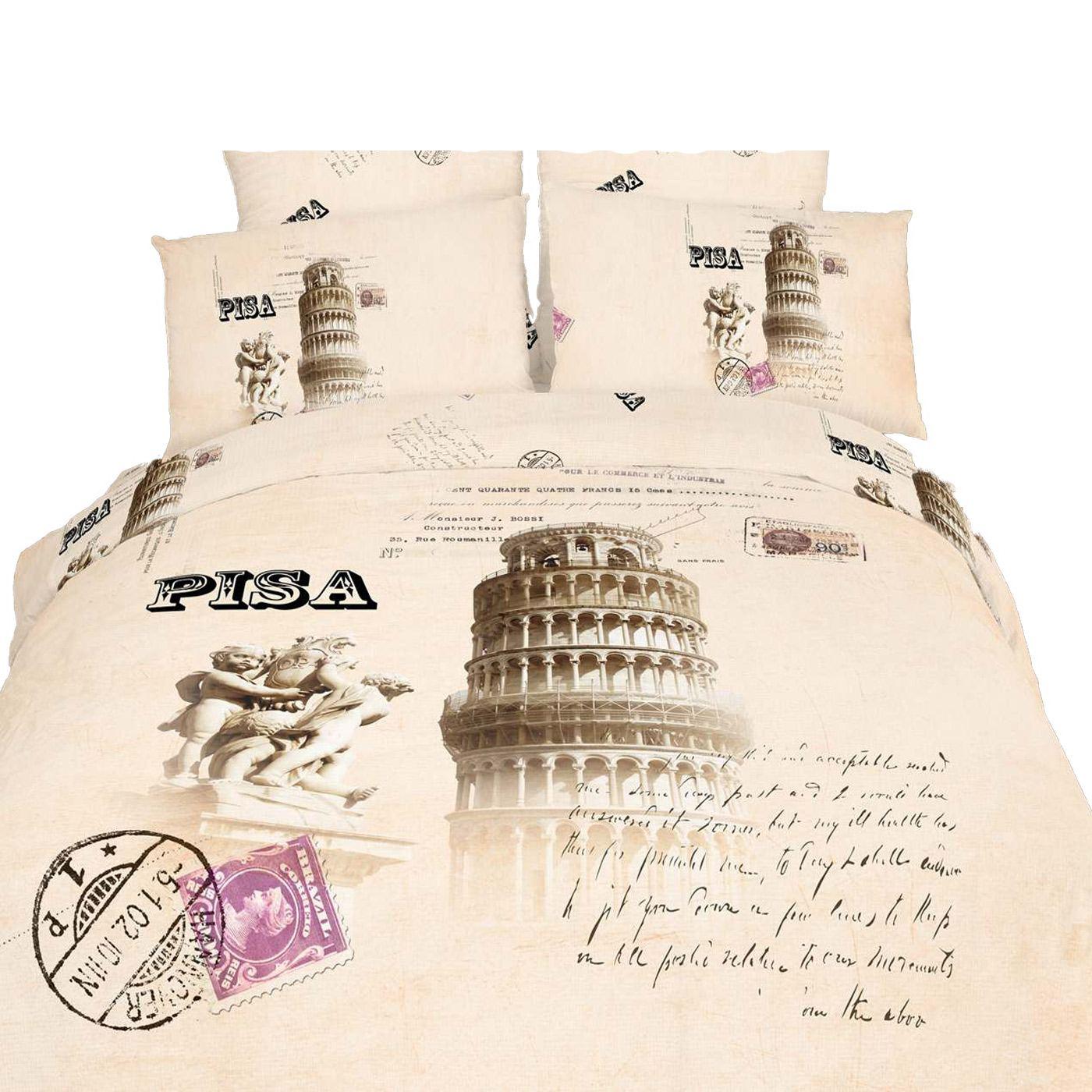 King Size Duvet Cover Set 6 Piece 100 Cotton Dolce Mela Bedding Pisa Dm494k Ebay